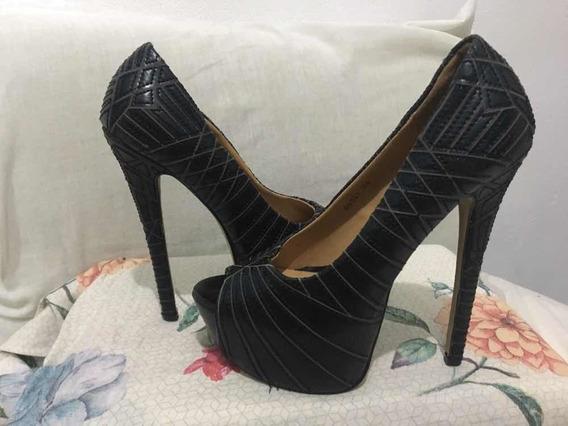 Sapato Salto Super Alto Lindo 34