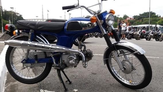 Honda Ss50 1973 - Impecável Placa Preta