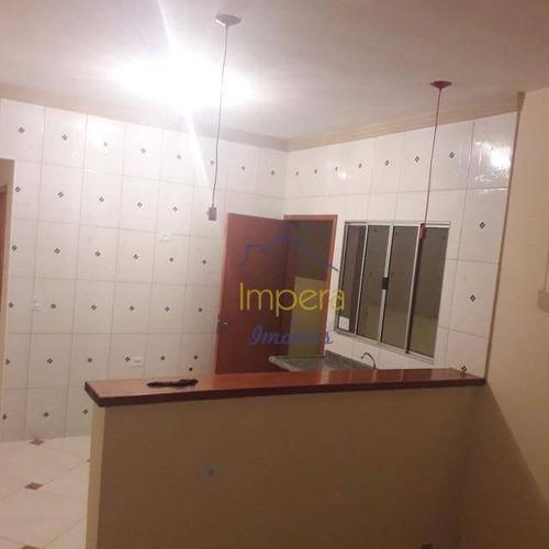 Casa Nova Com 2 Dormitórios À Venda, 58 M² Por R$ 225.000 - Loteamento Santa Edwiges - São José Dos Campos/sp - Ca0238