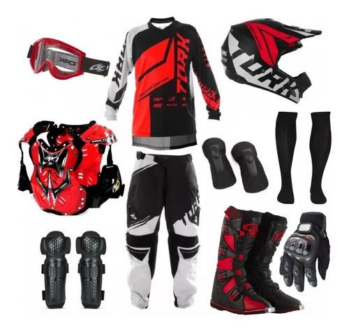 Combo Equipo Motocross Completo Pro Tork | Mercado Libre