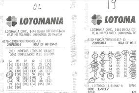 Planilha Da Lotomania Que Garante 18,19 Pontos