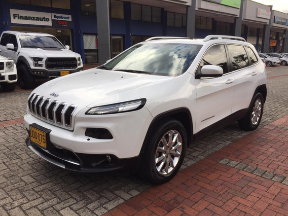 Jeep Cherokee Limited 3.2 2015 Blanco 5 Puertas