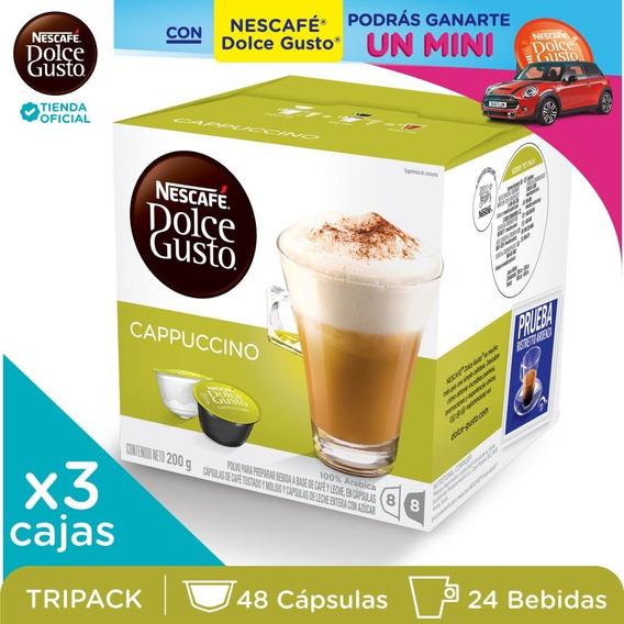 Nescafé® Dolce Gusto® Cappuccino X 3 Cajas