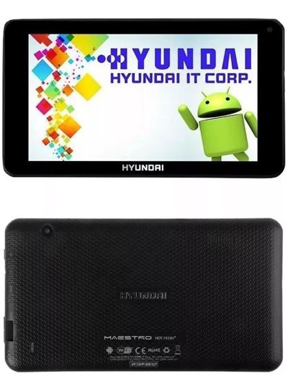 Tablet Hyundai Maestro Hdt-7433h+ 8gb Android 7.1 Quadcore