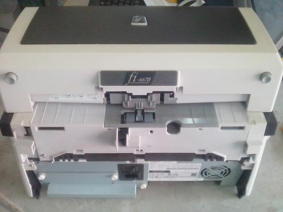Scanner Fujitsu Fi-6670, Profissional, 90ppm, 180ipm, A3/a4