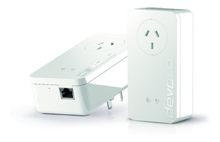 Repetidor Wif Amplificador Devolo Starter Kit Plc Dlan 550