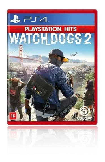 Jogo Game Watch Dogs 2 - Ps4