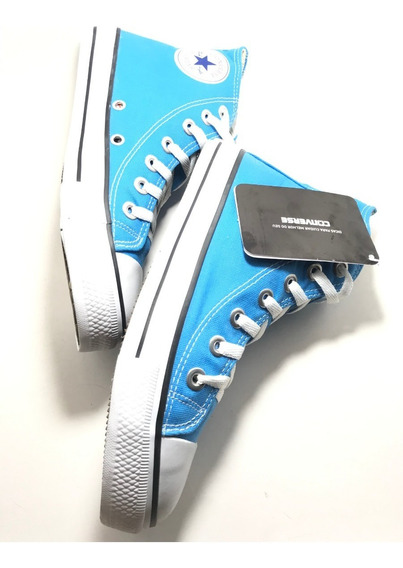 Tênis Converse All Star Ct Core Hi Bota Azul Turquesa