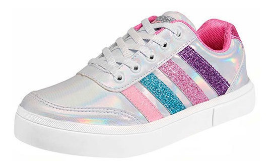 Tenis Tenis Jeans Shoes 30062 Niña Bebe Color Blanco Cov19