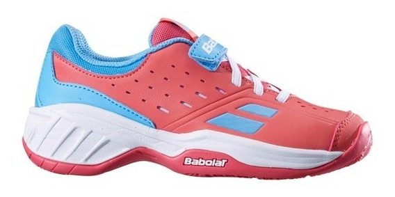 Tênis Babolat Pulsion All Court Kid - Pink/sky Blue