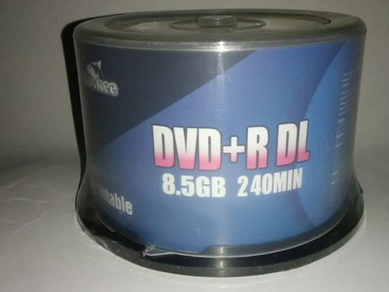 Dvd Virgen Doble Capa 8.5gb 240min Huskee