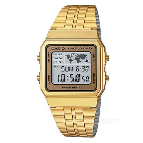 Imagen 1 de 1 de Reloj Casio Vintage A 500wga 9d Casio Shop Oficial