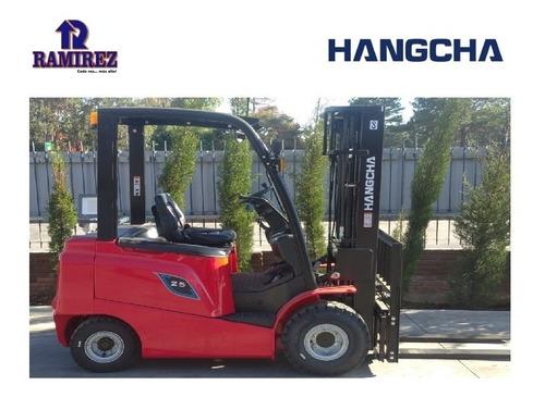 Autoelevador Montacarga Eléctrico Hangcha 2500kg