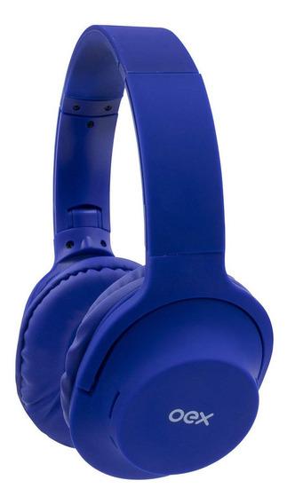 Fone De Ouvido - Headset Flow - Bluetooth - Hs307 - Azul - O