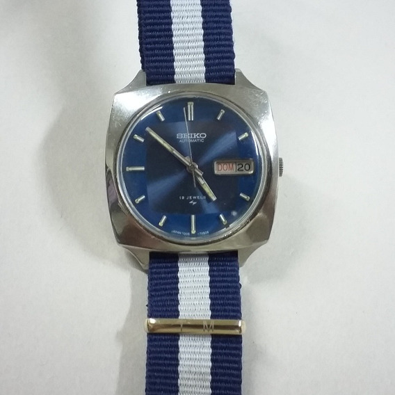 Relógio Seiko Japan 7006 7120 Vintage Anos 70 Show!!!