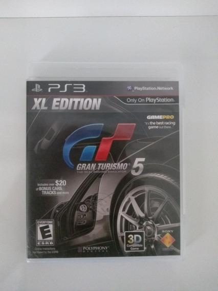Gran Turismo 5 Xl Edition - Ps3 Mídia Fisica