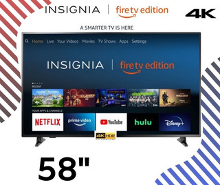Led 58 Insignia Fire Tv Edition Smart Tv Ultra Hd 4k,playsou