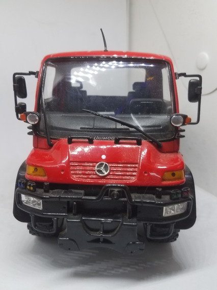 Mercedes Benz Unimog U 400 Rojo 1:24 Welly Local Berazategui