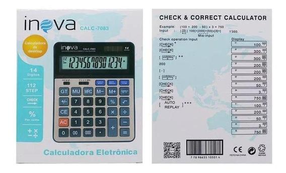 Calculadora Inova Calc7083