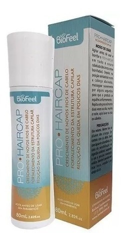 3 Pro Haircap Tônico Fortalecimento Redução De Queda Capilar