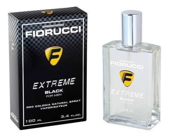Perfume Deo Colônia Masculino Extreme Black 100ml Fiorucci