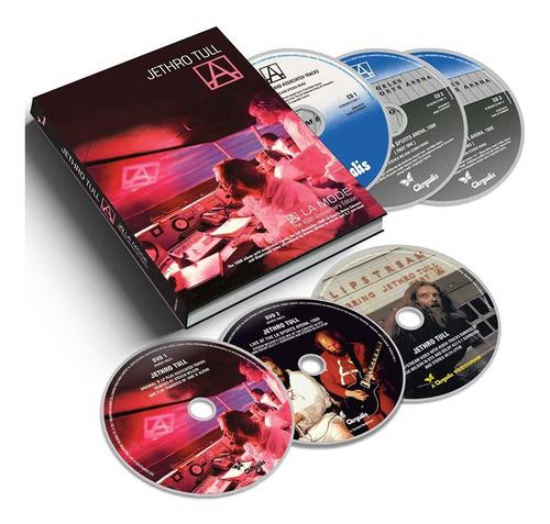 Jethro Tull A ( A La Mode ) 40 Aniversario Box  3 Cd + 3 Dvd