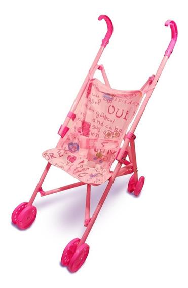 Carrinho Boneca Brinquedo Infantil Berço Dobrável- Simples