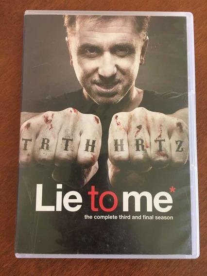 Serie Lie To Me Original Tercer Temporada Dvd Comedia Remate