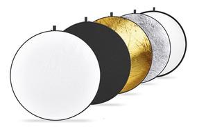 Rebatedor Circular Fotografico 5x1 Cores Com Bolsa - 1,10m