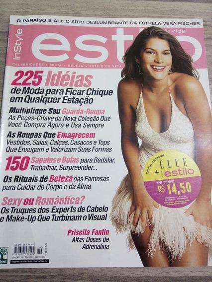 Revista Estilo 19 - Priscila Fantin - Vladimir Brichta