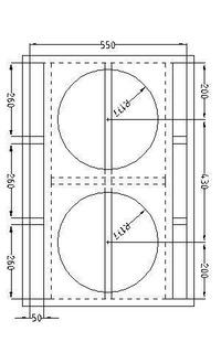 El Original 600 Planos Line Array Bafles Cajas Sonido Y Dj
