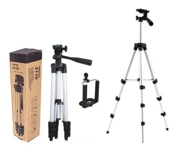 Tripé Universal Telescópico P/ Celular E Câmera 1,02m + Capa