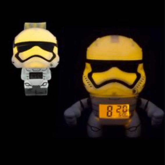 Reloj De Pulso Y Despertador Bulb Botz Marvel Storm Trooper