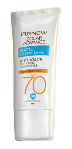 Renew Solar Advance Fps 70 Gel-creme Matte Ultraleve