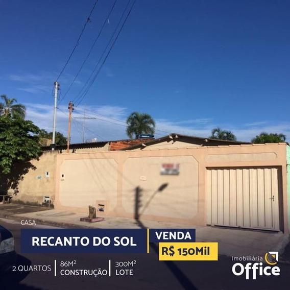 Casa Térrea Com 2 Quartos - Off427-v