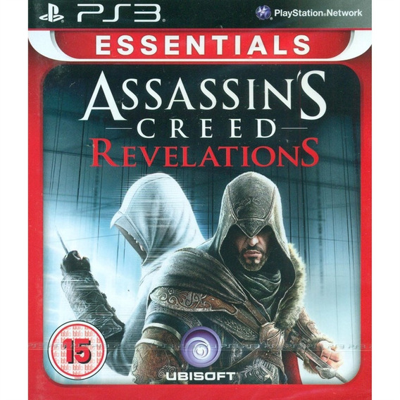 Assassins Creed Revelations Essentials Ps3 Mídia Física Novo