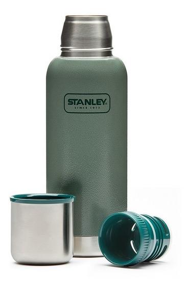 Termo Stanley 1l Adventure Original Verde Con Tapon Cebador