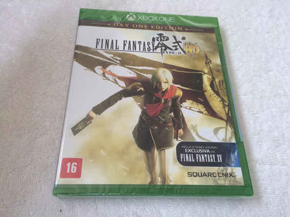 Final Fantasy Type- 0 Hd: Day One Edition - Lacrado