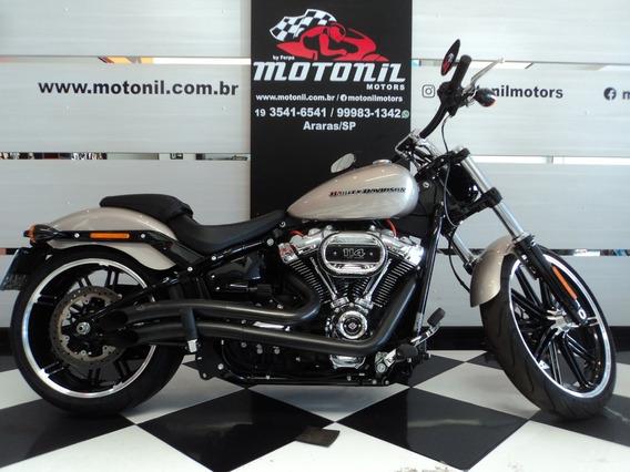 Harley Davidson Breakout 2018 Prata