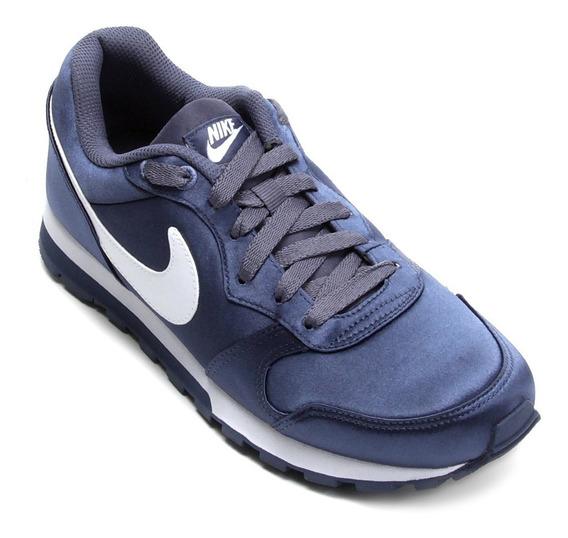 Tênis Feminino Nike Md Runner 2 Azul Original