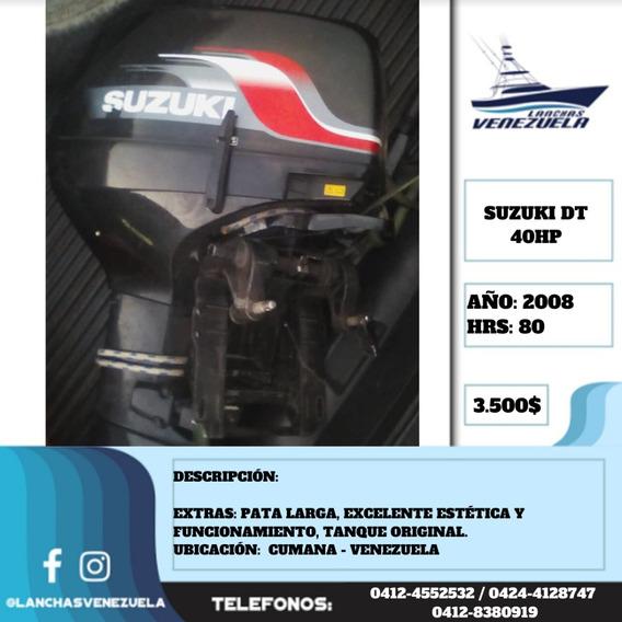 Motor Suzuki Dt 40hp Lv461