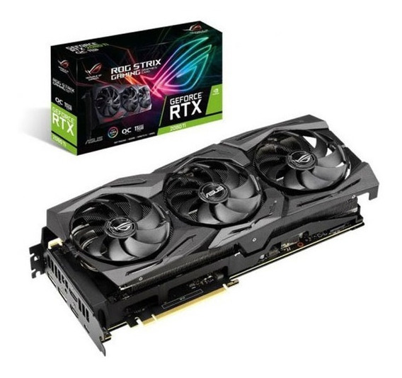 Video Geforce Rtx 2080 Ti 11gb Asus Strix Gaming Oc Rog