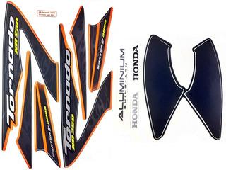 Faixas / Kit Adesivos Honda Xr250 Tornado 2008 Laranja