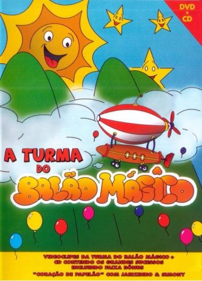 A Turma Do Balão Mágico Videoclipes Dvd + Cd - Novo Lacrado!