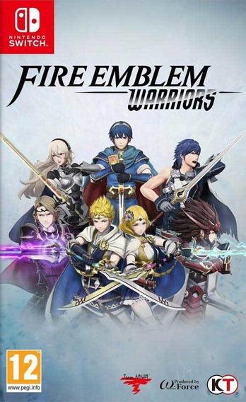 Fire Emblem Warriors Switch Mídia Física Lacrado
