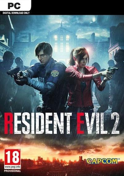 Resident Evil 2 / Biohazard Re:2 Steam Pc Cd Key