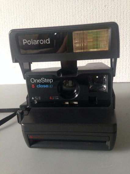Máquina Fotográfica Polaroid Close Up Vintage