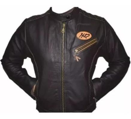 Jaqueta Masculida Harley Couro Legítimo Frete Grátis