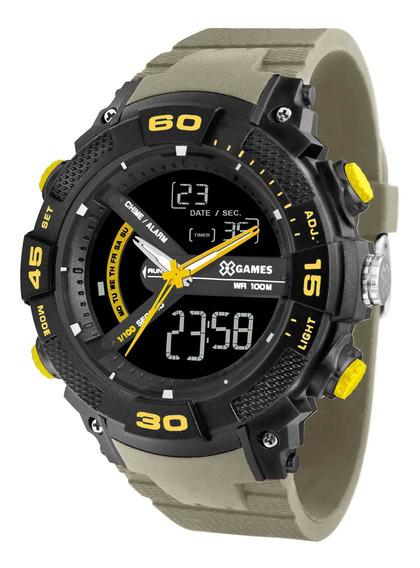 Relógio X Games Masculino Xmppa277 Pxex Verde - Refinado