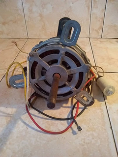 Motor Ventilador A/c De Ventana 15000 Btu Con Capasitor